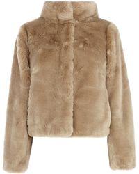 Coast Alfine Fur Jacket - Natural