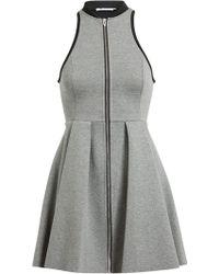 T By Alexander Wang Racerback Jersey Dress - Lyst