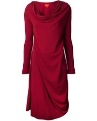 Vivienne Westwood Red Label Ruched Dress - Lyst