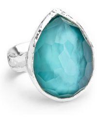Ippolita - Sterling Silver Wonderland Teardrop Ring In Denim - Lyst