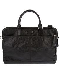 Balenciaga Laptop Case - Black