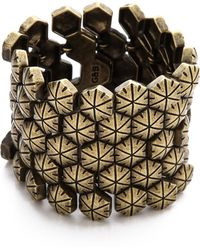 Giles & Brother | Hex Mesh Bracelet | Lyst