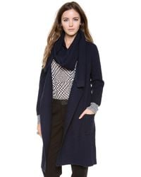 Paul Smith Black Label - Cable Knit Cardigan with Scarf - Lyst