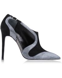 Rene Caovilla Closed Toe - Black