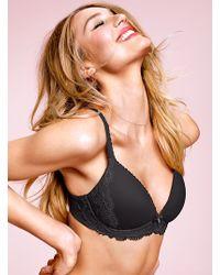 Victoria's Secret Black Wireless Bra - Lyst