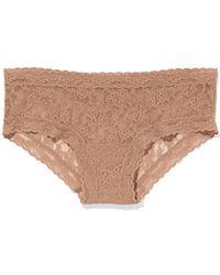 Victoria's Secret Beige Hiphugger Panty - Lyst
