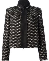 Giambattista Valli Cotton-Wool Blend Jacket - Lyst