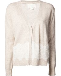 Girl by Band of Outsiders - Lace Cardigan - Lyst