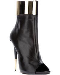 Giuseppe Zanotti Metallic Cuff Ankle Boot - Lyst