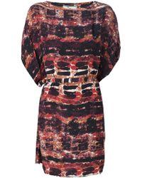 Issa Geometric Printed Dress - Lyst