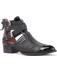 Jeffrey Campbell Mercet Buckled Boot black - Lyst
