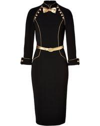 L'Wren Scott Dress in Blackgold black - Lyst