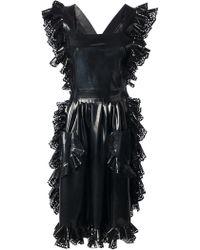 Meadham Kirchhoff Rubber Apron - Black