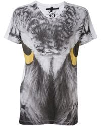 Sons Of Heroes - Owl Eyes Graphic Tshirt - Lyst