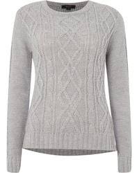 Therapy Cosy Cable Jumper - Lyst
