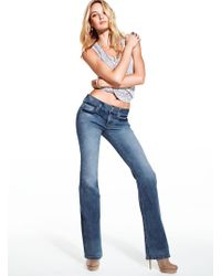 Victoria's Secret The Hipster Bootcut Jean - Lyst