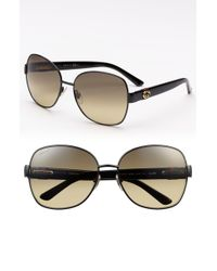 Gucci 59mm Oversized Sunglasses - Lyst