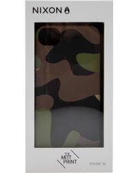 Nixon Mitt Print Iphone 4s Case - Lyst