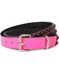Tripp Nyc Studded Leather Belt - Lyst