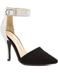Chinese Laundry Black Solitaire - Lyst