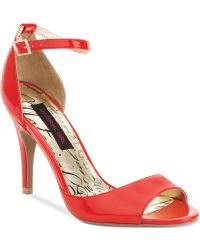 Material Girl Inwood Single Sole Sandals - Lyst