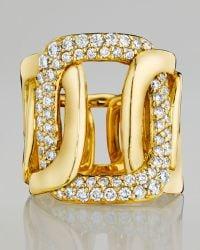 Mimi So - Piece 18K Yellow Gold 5-Link Diamond Ring - Lyst