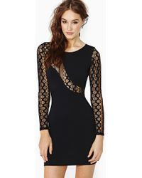 Nasty Gal Indivisible Lace Dress - Lyst