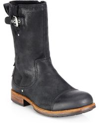 Ugg Kern Sheepskin-Lined Boots - Lyst