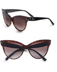 Dior Cat'S-Eye Sunglasses - Lyst