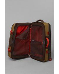 Urban Outfitters Burton Wheelie Double Deck Suitcase - Brown