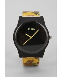 Urban Outfitters - Flud Pantone Camo Watch - Lyst