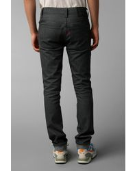 Urban Outfitters 511 Rigid Gray Jean