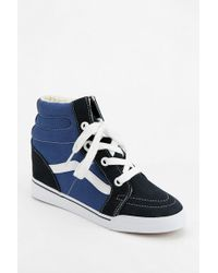Urban Outfitters - Hidden Wedge High Top Sneakers - Lyst