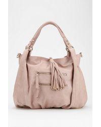 Urban Outfitters - Ecote Tasseled Vegan Leather Hobo Bag - Lyst