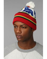 Urban Outfitters Undefeated Denver Pom Beanie - Lyst