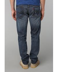 Urban Outfitters Levis 513 Quincy Slim Jeans - Blue
