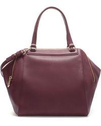 Zara Double Zip Bowling Bag - Lyst