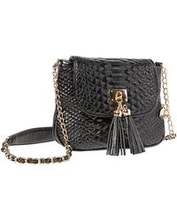 Big Buddha - Latte Pvc Handbag - Lyst
