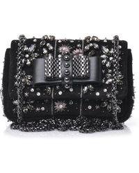 Christian Louboutin Sweet Charity Embellished Shoulder Bag - Lyst