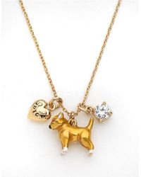 Juicy Couture - Chihuahua Mini Critter Pendant Necklace - Lyst