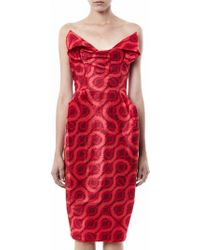 Vivienne Westwood Gold Label - Exclusive Lilly Double Squiggle-Print Dress - Lyst