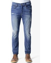 7 For All Mankind Luxe Performance Brayden Slouchy Skinny - Lyst