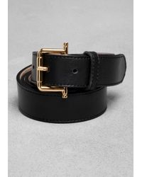 & Other Stories - Leather Belt - Lyst