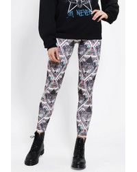 Urban Outfitters Sparkle Fade Into The Wild Legging - Lyst