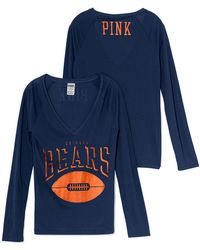 Victoria's Secret Chicago Bears Long Sleeve Tee - Lyst