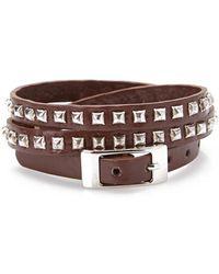 Forever 21 - Studded Wrap Bracelet - Lyst