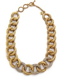 Aerin Erickson Beamon - Chain Link Necklace - Lyst