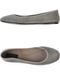 Calvin Klein Ballet Flats - Gray