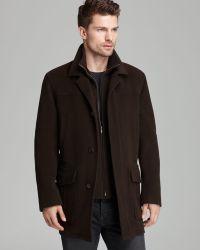 Cole Haan Classic Topper Coat - Brown