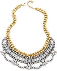 Juicy Couture - Rhinestone Drama Necklace - Lyst